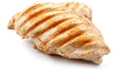 gegrillte Hähnchenbrust als Eiweißquelle