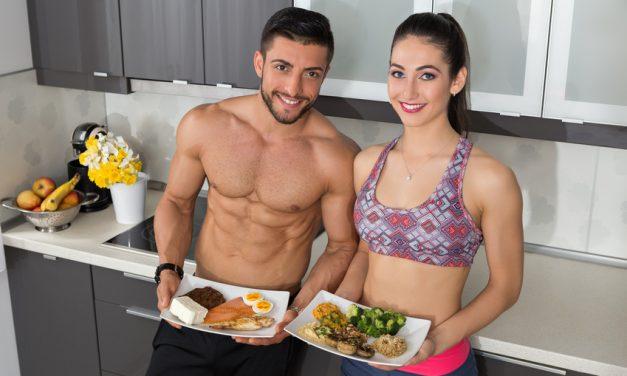 Proteine & Eiweiß zum Abnehmen & Muskelfaufbau